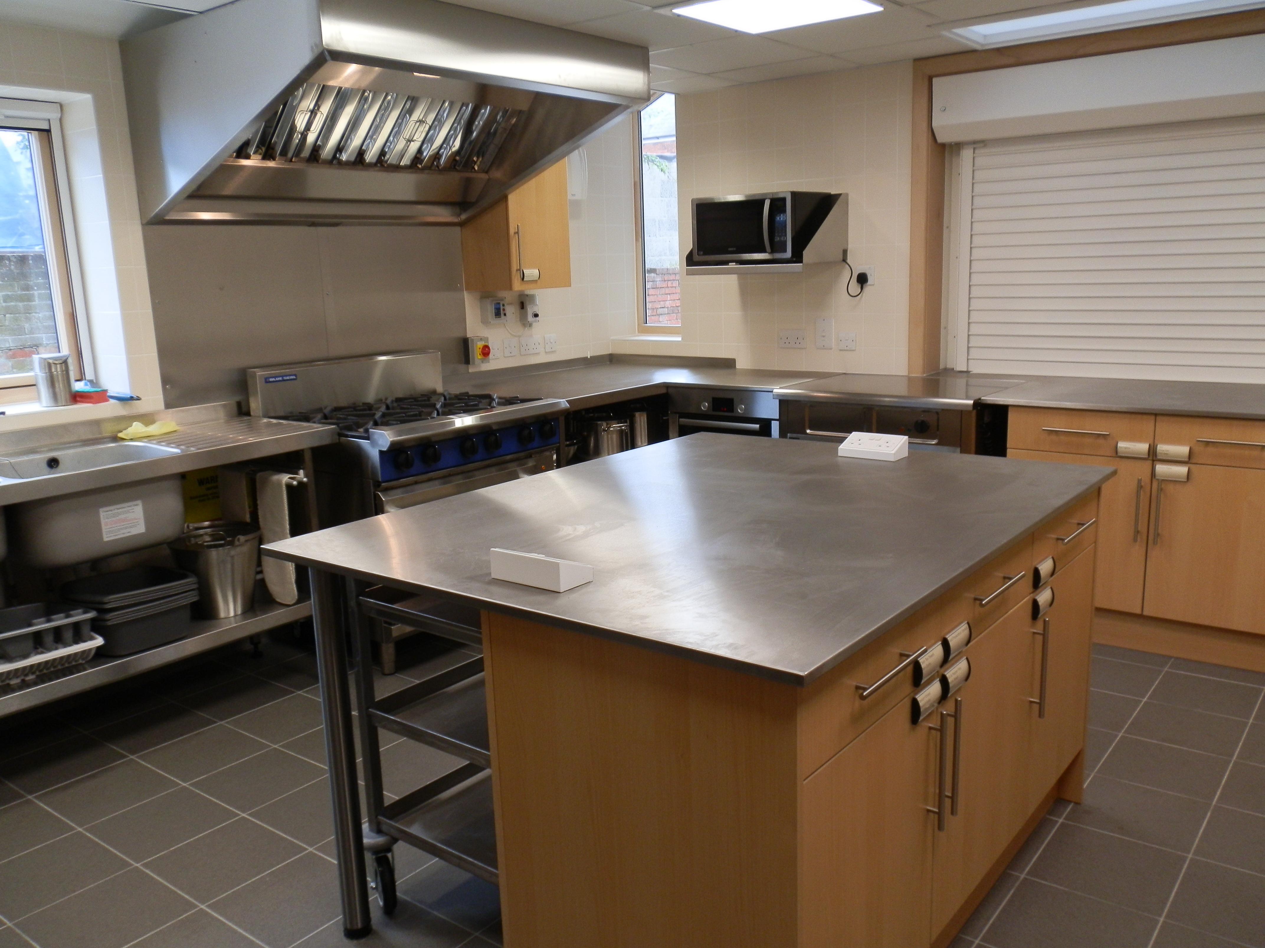 St AldhelmsChurch centre Kitchen