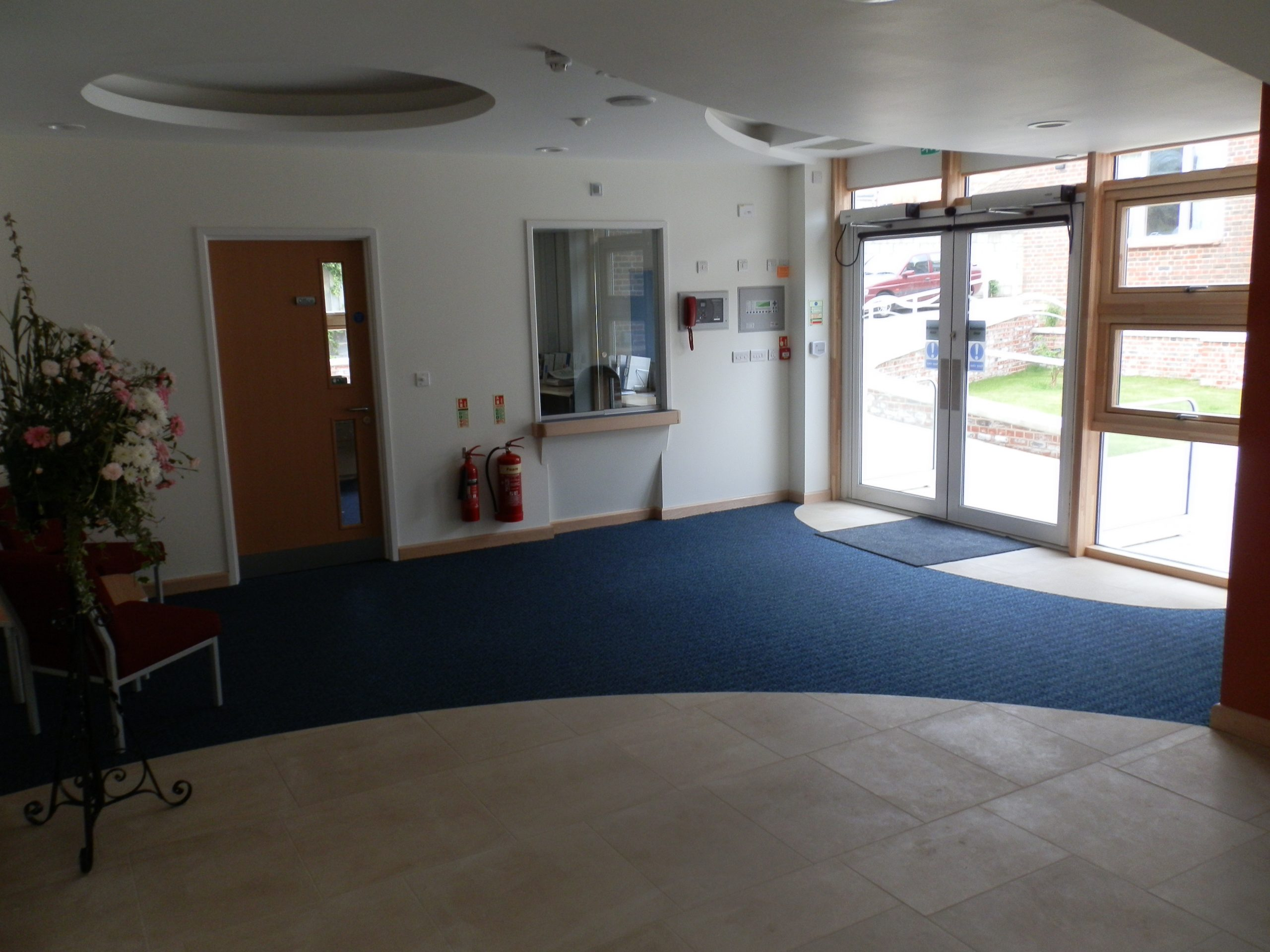 Front Entrance St Aldhelms Church Centre- Rooms avilable to hire in Weymouth